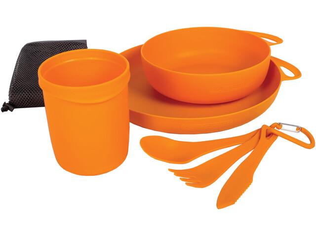 Sea to Summit Delta Set de vaisselle pour camping, orange